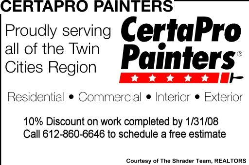 Certapro painters coupons - Brunos livermore coupons